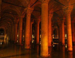 basilica cistern interior