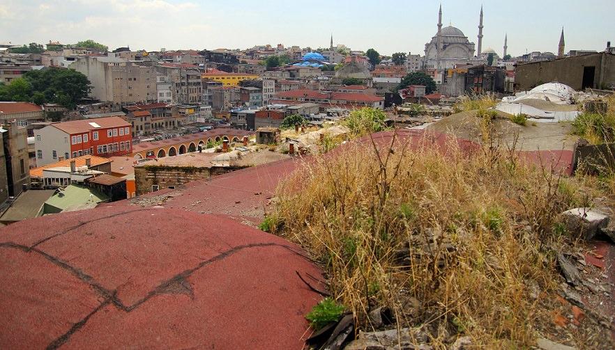 Rooftop of Buyuk Valide Han
