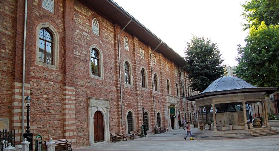 Arab Mosque exterior