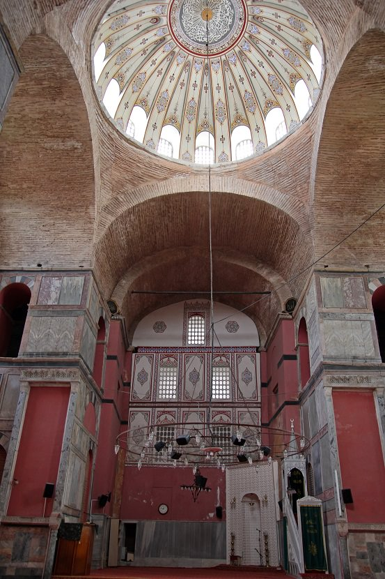 Interior of Kalenderhane Mosque