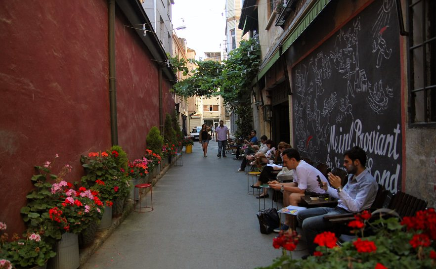 Cafes of Karakoy