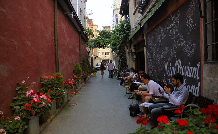 Cafes of Karakoy