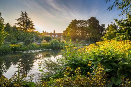 Sunrise at Dale Farm by Annie Green-Armytage