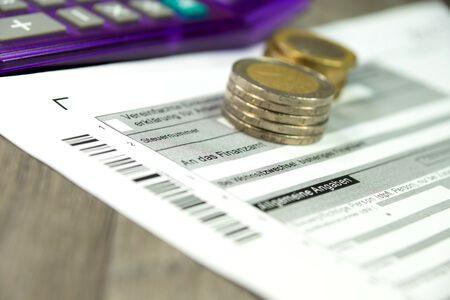 55136693 - german tax return