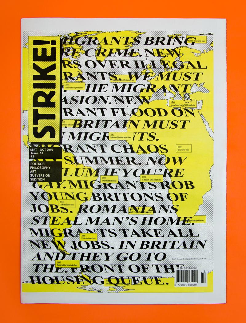 Poster design jobs london - Strike