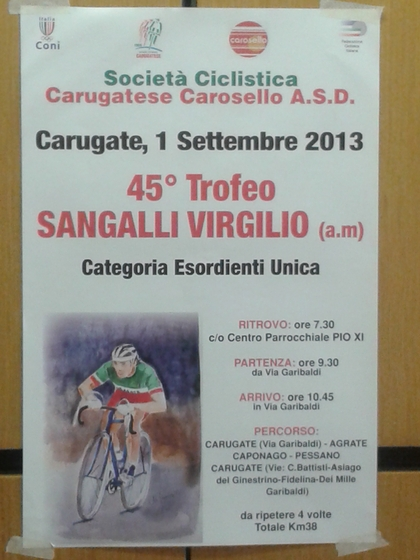 45°Trofeo Sangalli Virgilio (am)