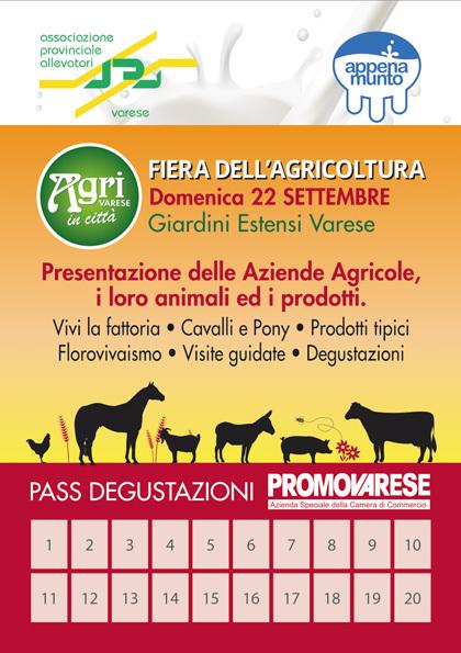 AgriPass: 20 assaggi a 20 specialità varesine!