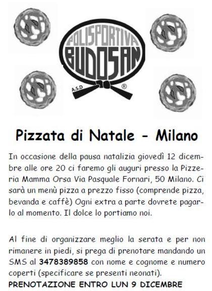 Pizzata a Milano