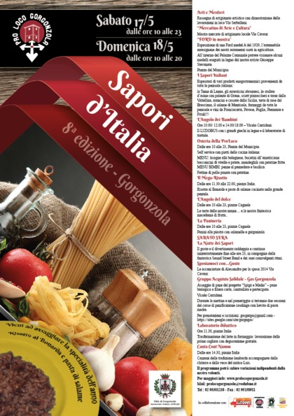 Sapori d'Italia - VIII edizione