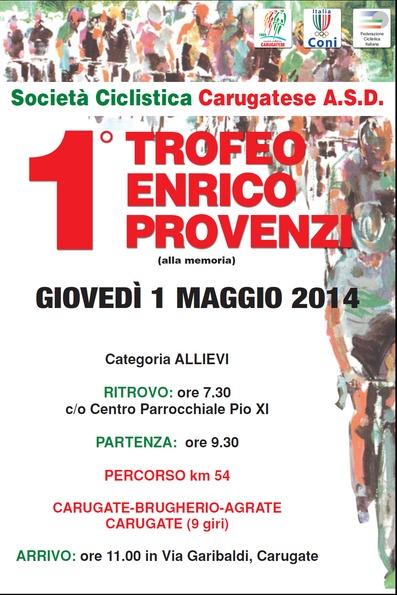 1° Trofeo Enrico Provenzi(am)