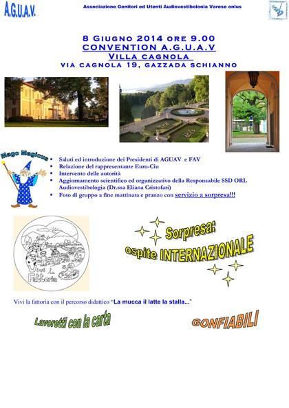 VIVI la FATTORIA per i BAMBINI di AGUAV a Villa Cagnola
