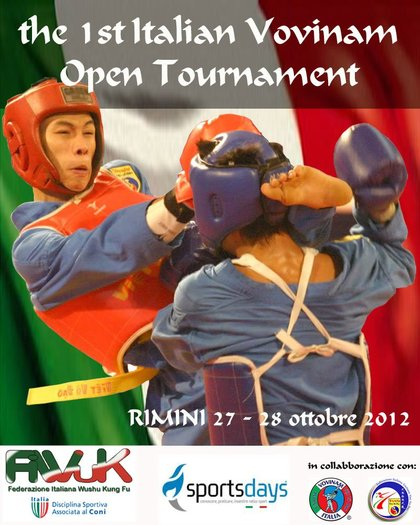 The 1st Italian Vovinam Open Tournament