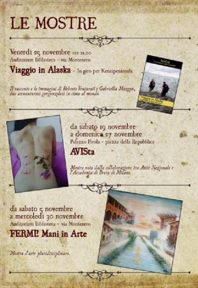 LE MOSTRE // FERMI! Mani in arte