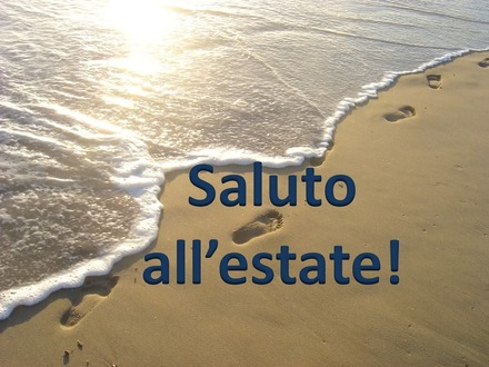 Saluto all'estate