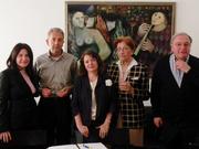 16 Aprile 2013 - I soci fondatori presso lo studio notarile all'atto della Fondazione dell'Associazione.