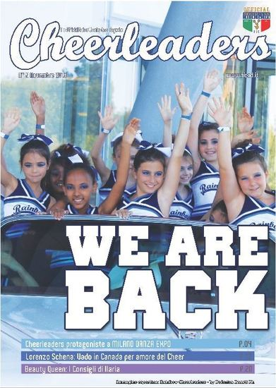 E' uscito Cheerleaders Magazine n.9 Novembre