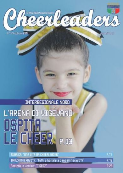 Cheerleaders Magazine n.12 Febbraio – NOW ONLINE!