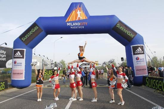 Milano City Marathon 2014 – Milano Cheer Official Team
