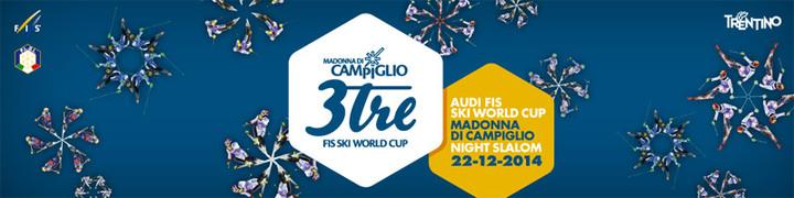 """22 NOVEMBRE Presentazione """"3TRE SLALOM SPECIALE WORD CUP a Madonna di Campiglio"""""""