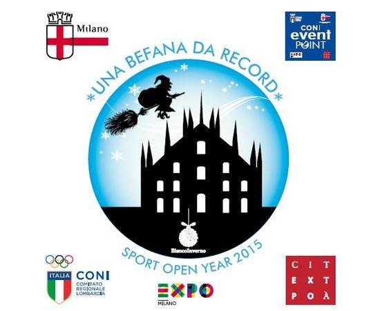 Una befana da Record CONI EXPO Sport open year 2015
