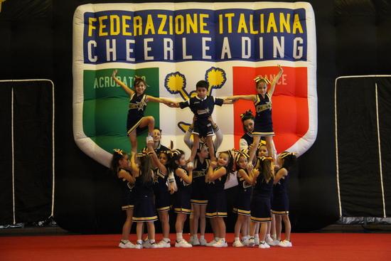 Comets Cheerleaders al Milano Expo Contest