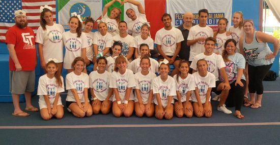 2° Selezione Team Italia Cheerleading & Cheerdance