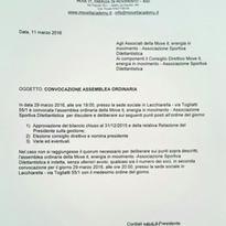 ASSEMBLEA ORDINARIA SOCI