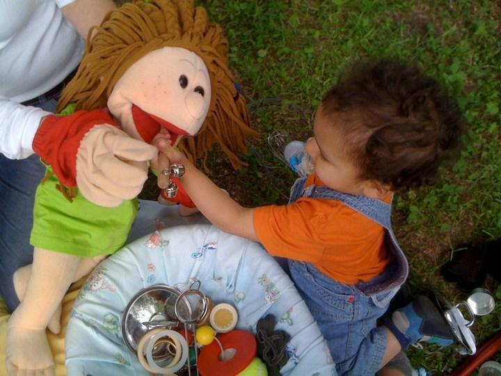 La Bambola da Terapia nel contesto una persona – una lingua (OPOL)