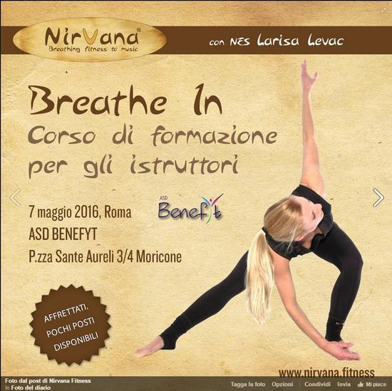 Nirvana Fitness Instructor training 07-May-2016, Rome, Italy