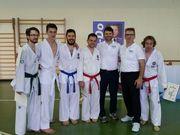 Esame di Pedro,Fabio, Matteo Bernardi, Piotr e Carsten con Master Cecconato