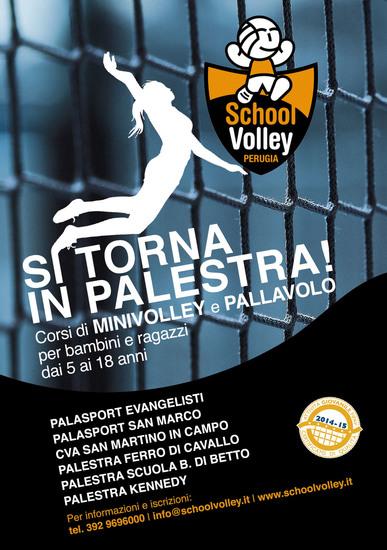 Si riaprono le iscrizioni in casa School Volley Perugia