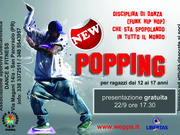 ASD DANCE E FITNESS - POPPING (FUNK HIP HOP)