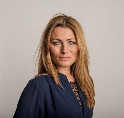 Anne Sophia Hermansen. Klummefoto og byline