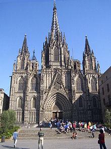 katedralen i Barcelona