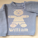 Photo of Personalised Children's Jumper.