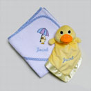 Photo of Hooded Towel and Comforter Gift Set