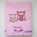 Photo of 'Hoot Hoot' Owl Baby Blanket