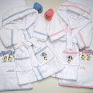 Photo of Bathrobe and Towel Gift Set