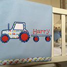 Photo of Personalised Baby Blanket.