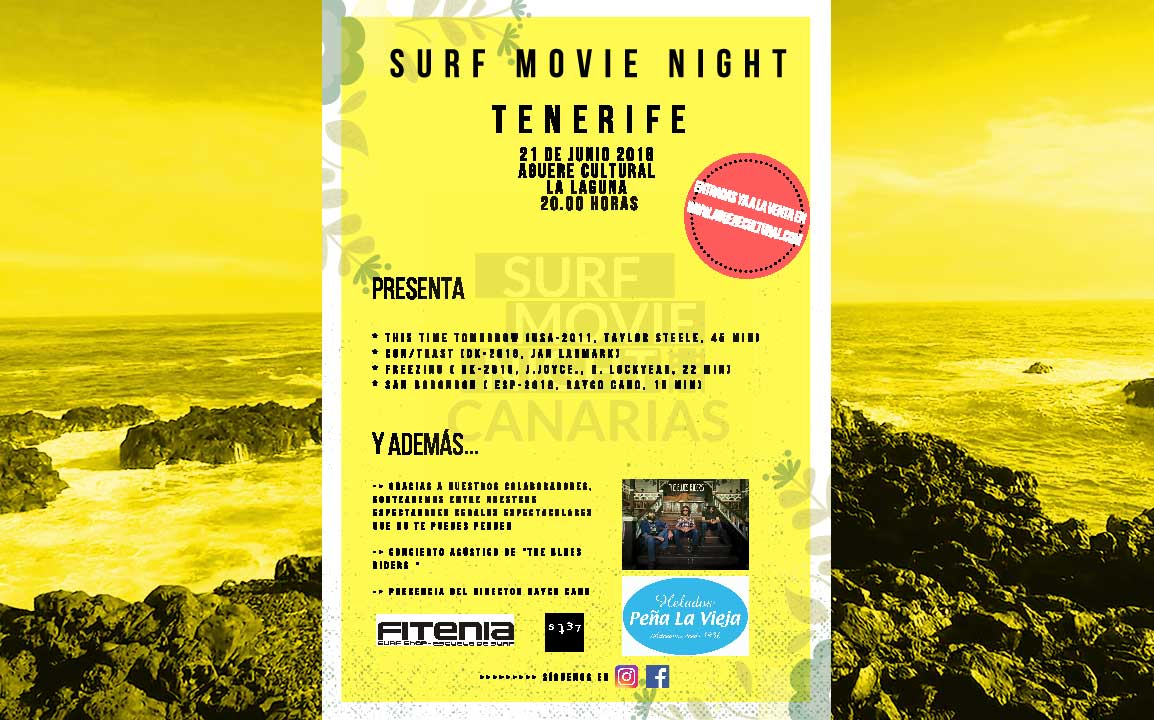 Cartel Surf Movie Night Aguere