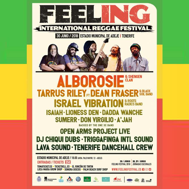 Feeling Festival 2018 Cartel