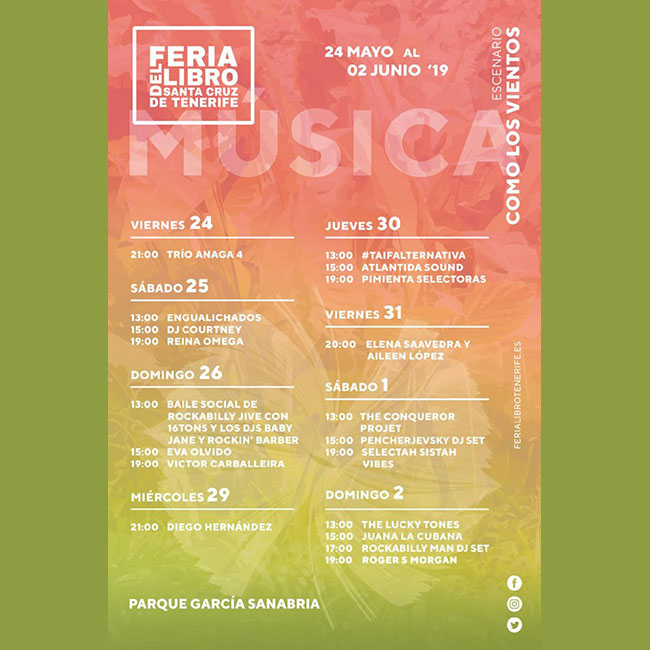 Música XXXI Feria Libro