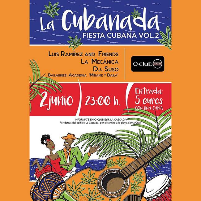 La Cubanada vol.2 cartel