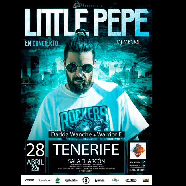 Cartel Little Pepe El Arcón 2018