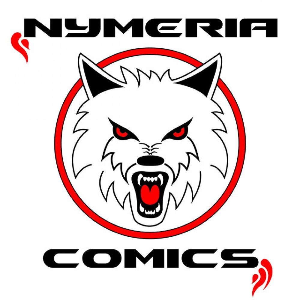 Resultado de imagen de logo nymeria comics
