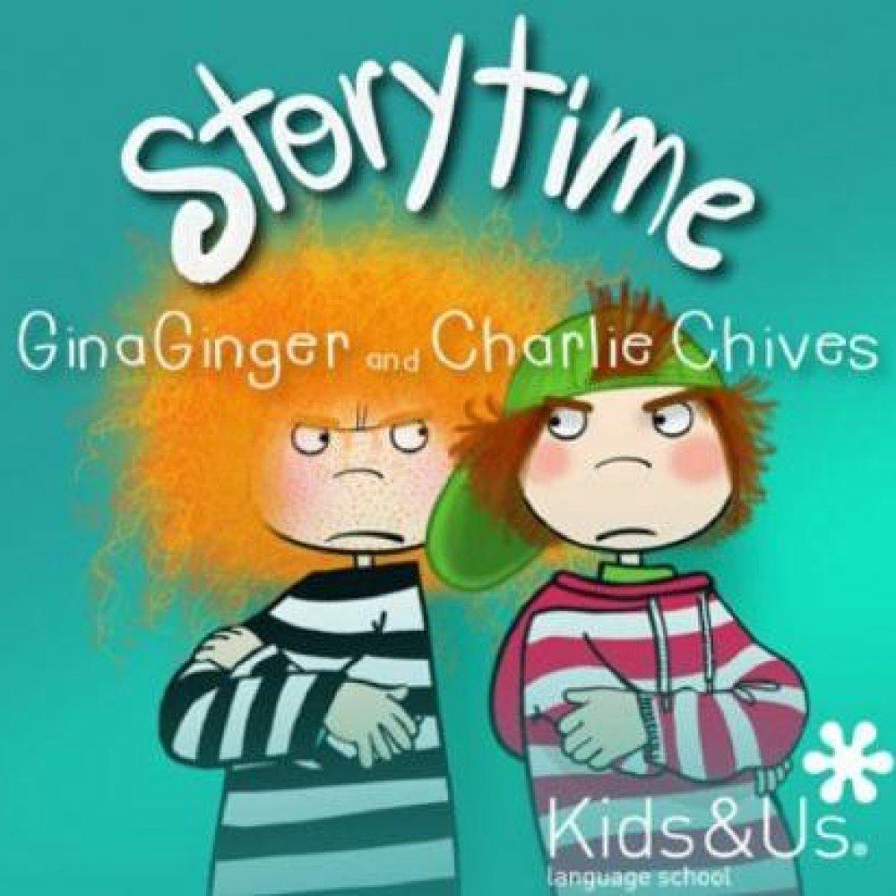 Resultado de imagen de Gina Ginger and Charlie Chives