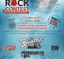 Tattoo Arte Rock Contest