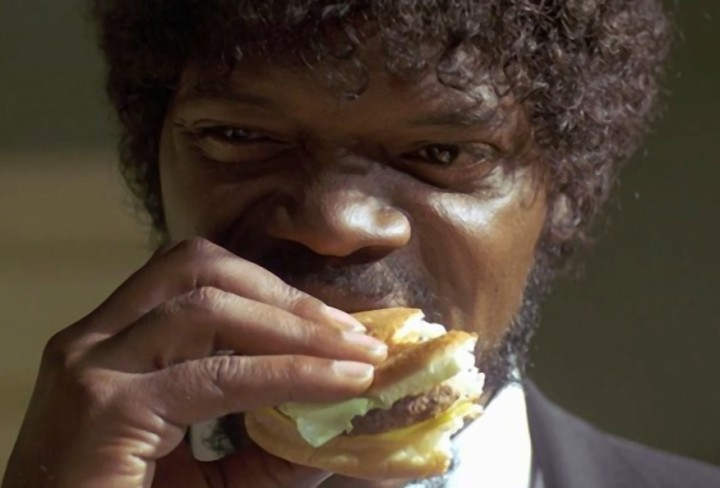 Hamburguesa Pulp Fiction