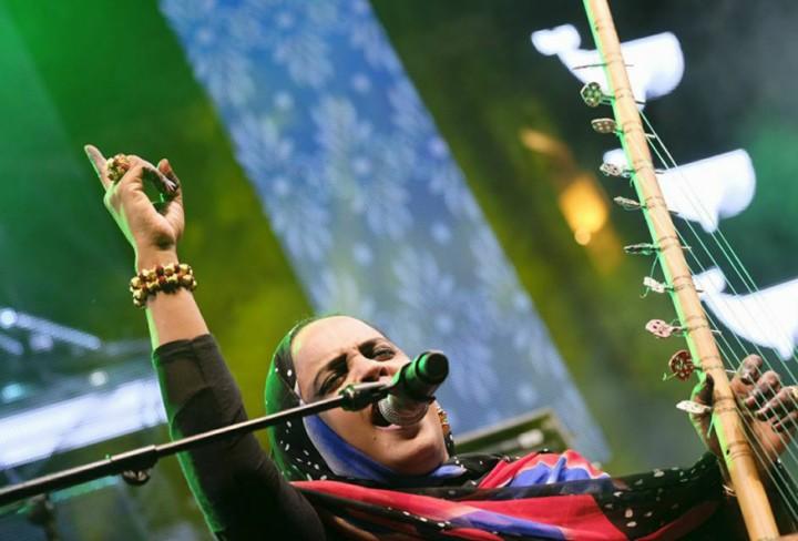 Noura Mint Seymali - Foto propiedad de Festival Boreal