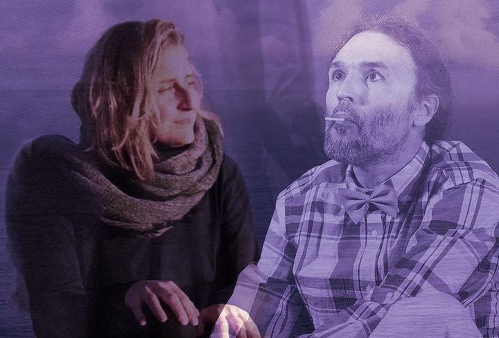Anna Larat-Lini y Juan Luis Moreno